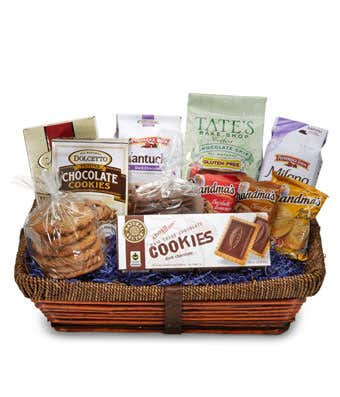 Perfect Cookie Basket At From You Flowers