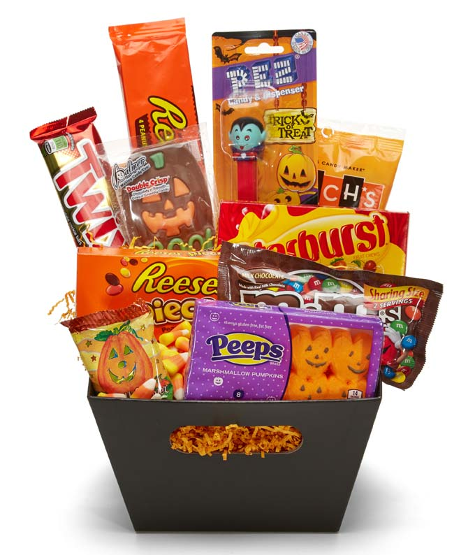 Trick or Treat Halloween Basket