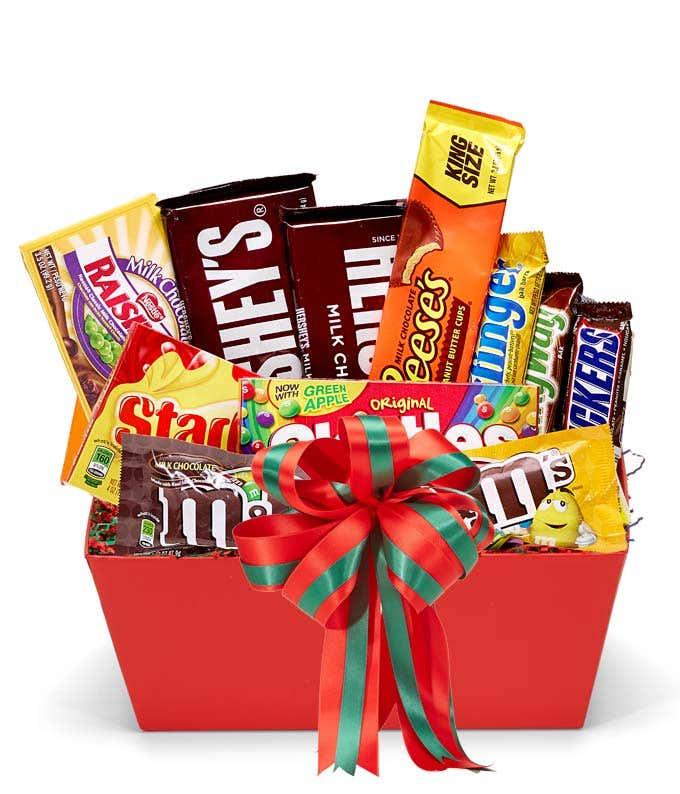 Santa's Sweet Tooth Basket