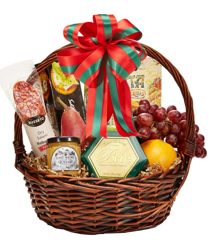 Season's Greetings Gourmet Basket at From You Flowers