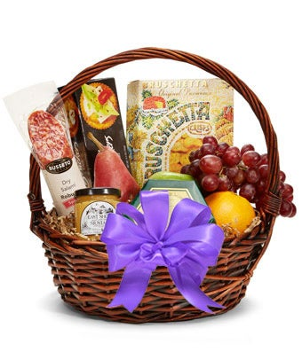 Mothers Day Fruit and Gourmet Gift Basket at From You Flowers