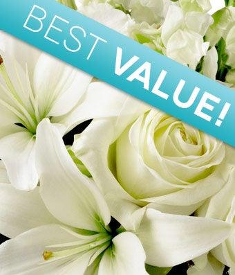 Florist Designed Sympathy Arrangement