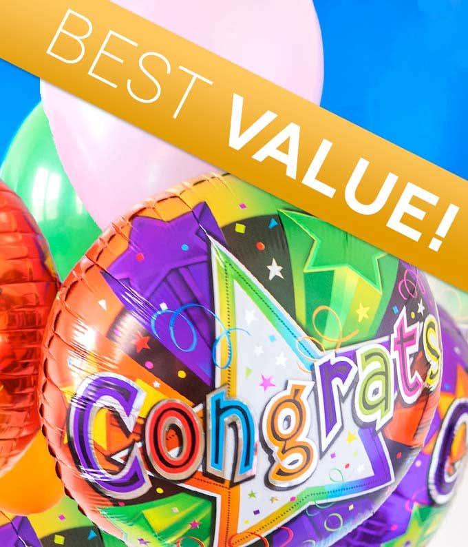 Congratulation Balloon Bouquet