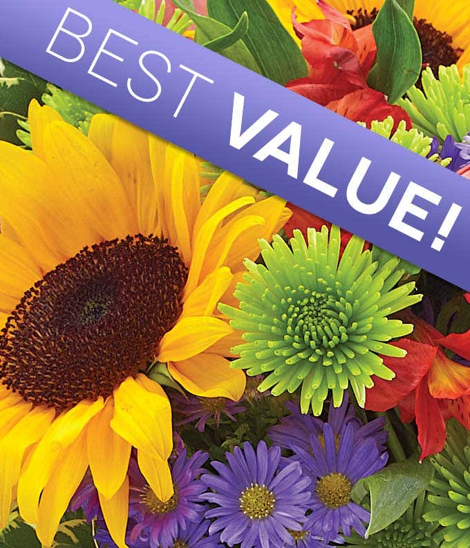 Classic Flower Bouquet - Florist Arranged