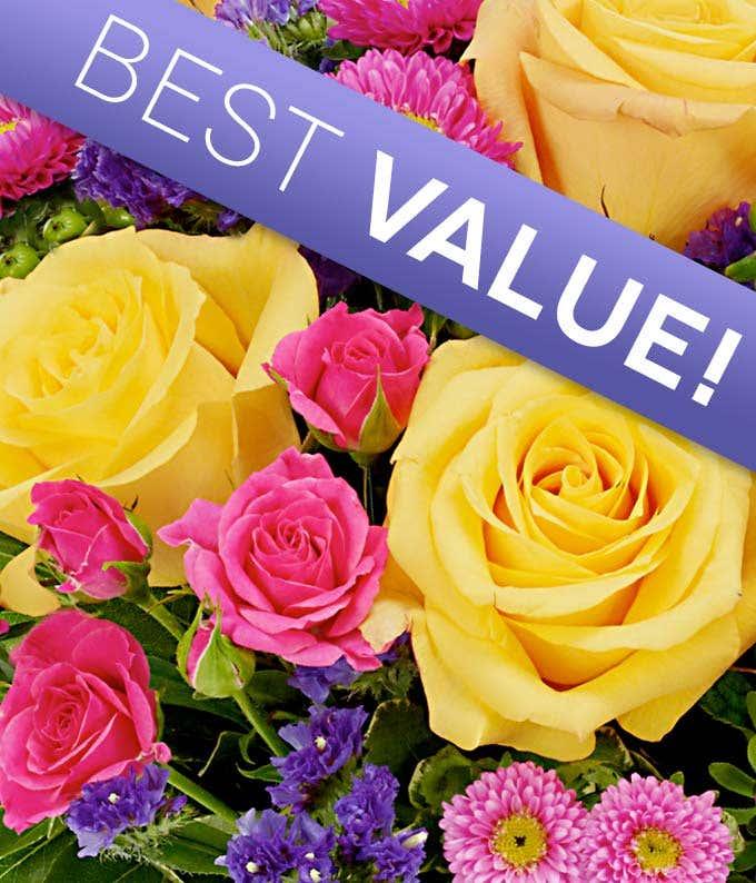 Get well flower arrangement delivered by florist