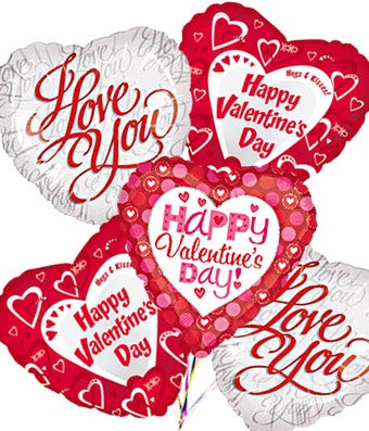 valentine's day mylar balloon bouquet at from you flowers, Ideas