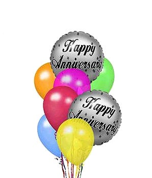 Happy Anniversary Balloons At From You Flowers