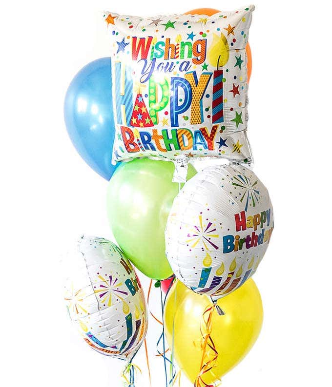 Happy Birthday Balloons At From You Flowers