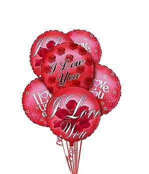 I Love You Balloons At From You Flowers