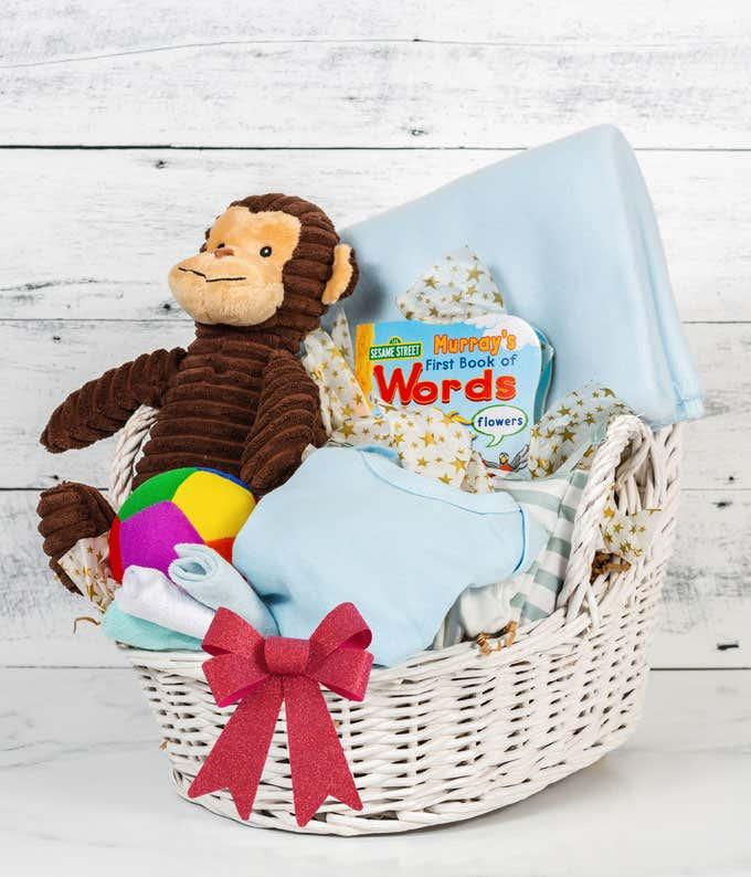 It's A Boy Baby Monkey Galore