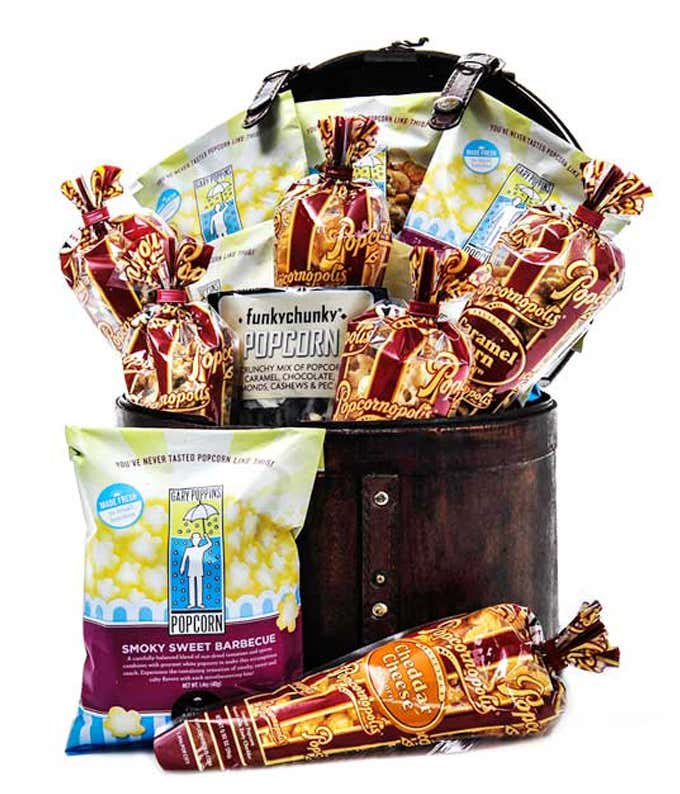 Variety of Popcorn for delivery