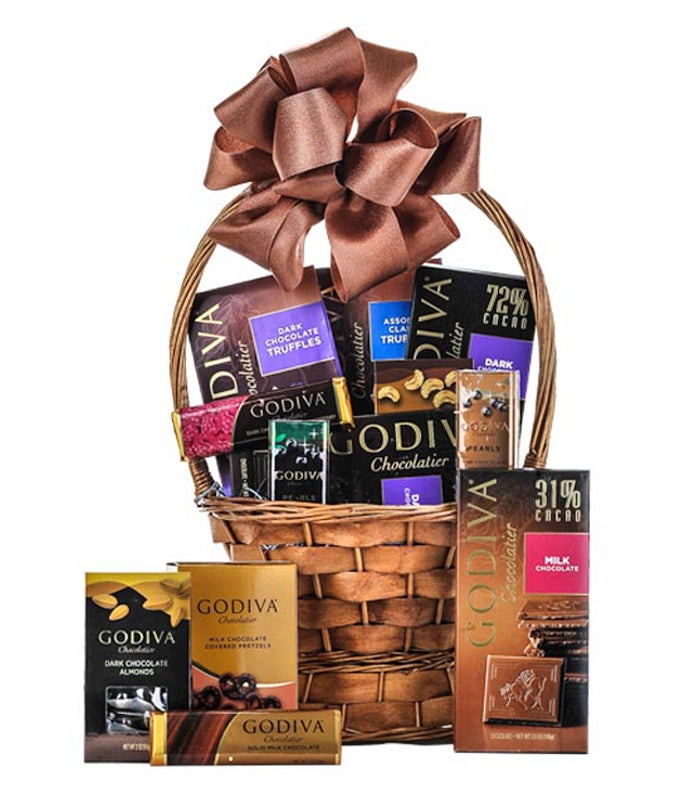 Dream in Godiva Basket