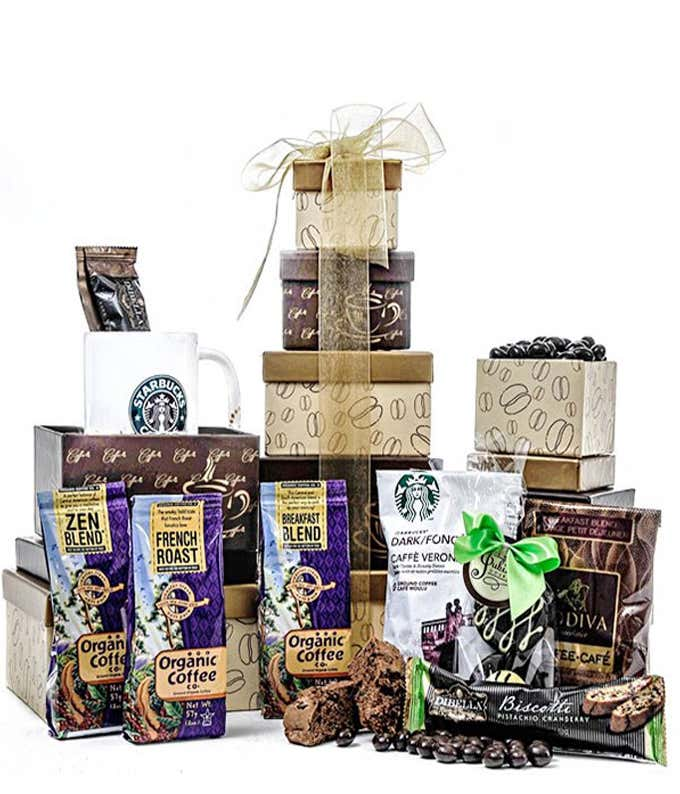 Gift Basket for a Coffee Lover
