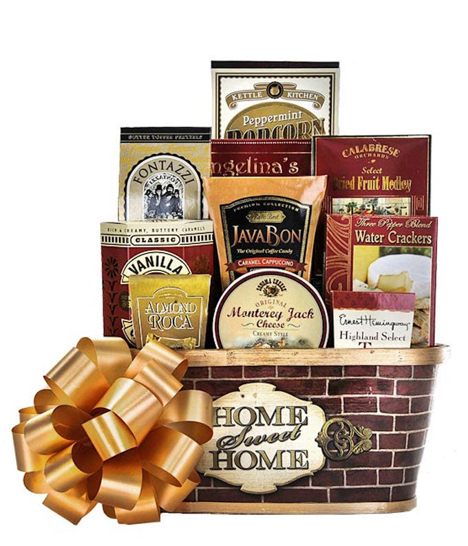 Welcome Home For The Holidays Basket