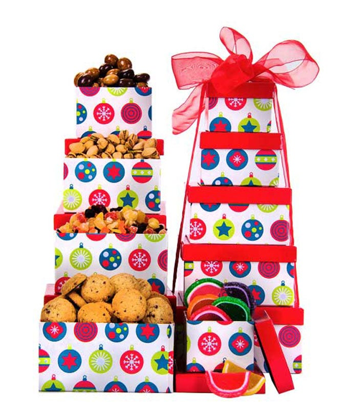 Holiday Bells Gift Tower