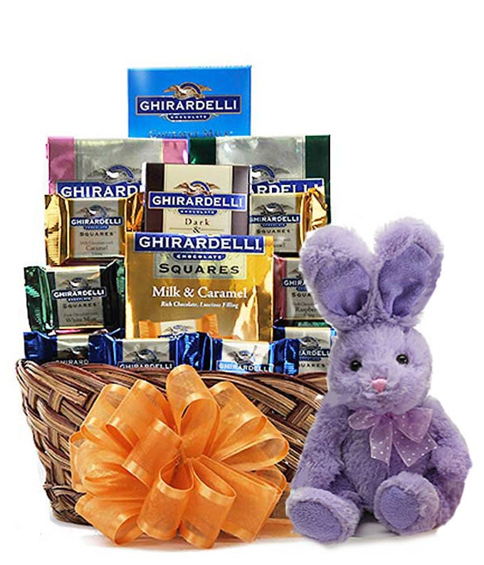Easter Ghirardelli Chocolate Gift Basket