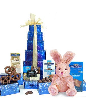 Easter Grand Ghirardelli Gift Tower