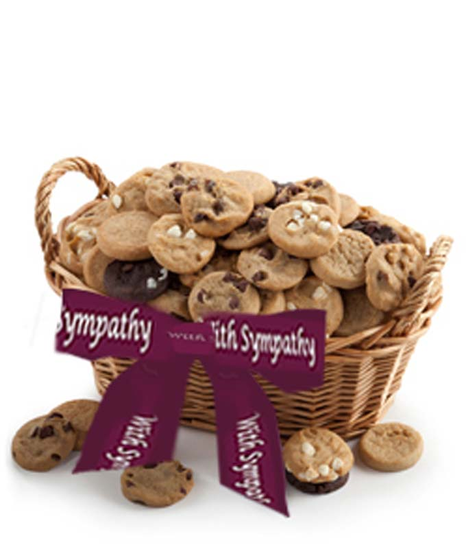 Sympathy Cookie Basket
