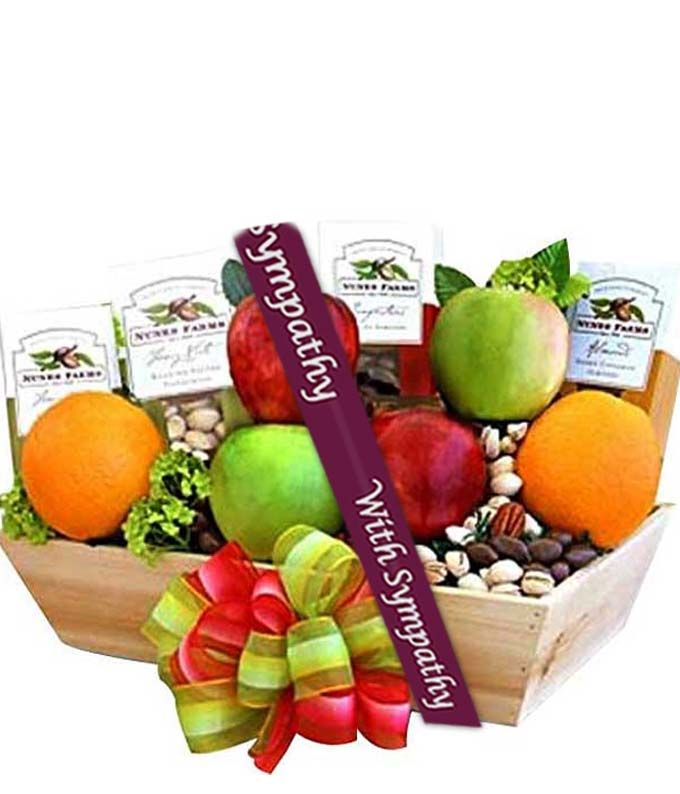 The Healthy Choice Sympathy Basket