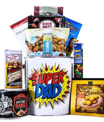 Super Dad Snack Can