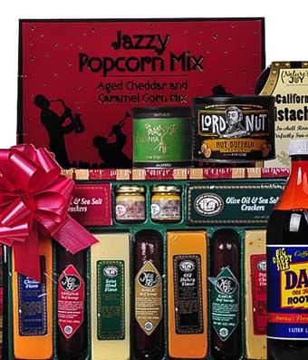 Jazzy Dad's Gift Basket