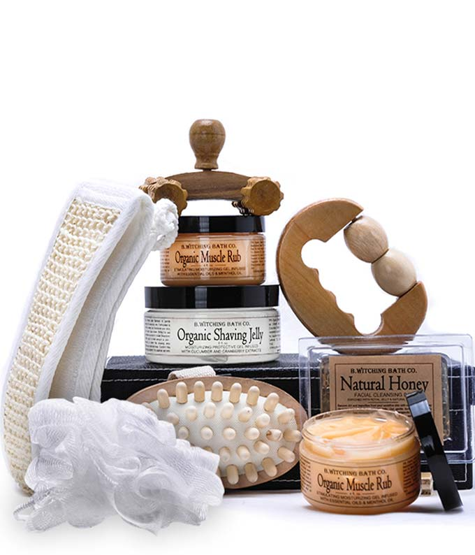 B.Witching Spa Gift Basket for Men