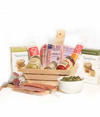 Ultimate Cured Meat & Antipasto Gift Basket