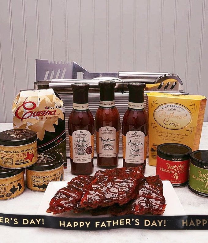 Father's Day Ponderosa BBQ Basket