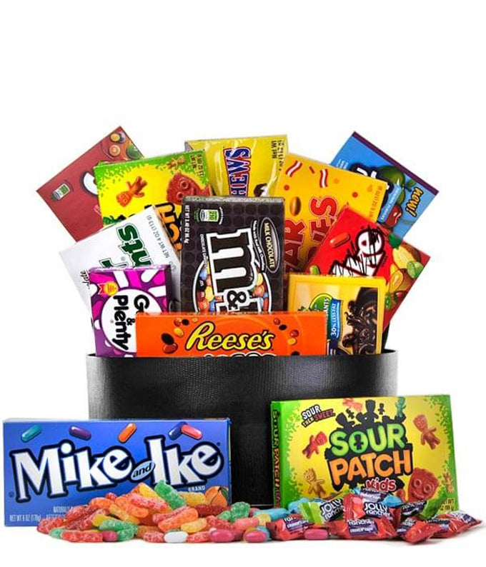 The Sweet Tooth Candy Basket