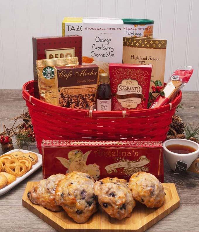 Yuletide Breakfast Basket