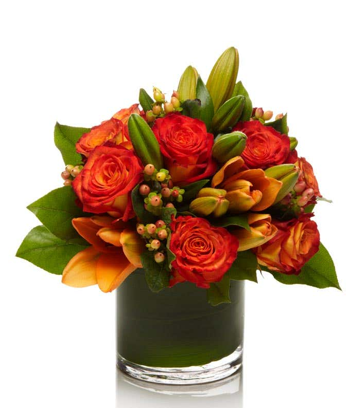 The Coral Rose Bouquet