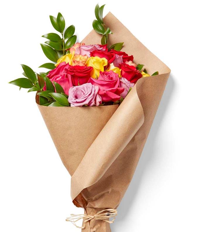 Rainbow Rose Bundle