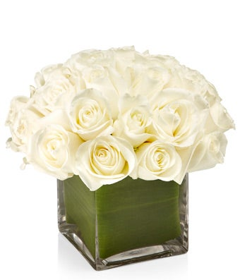 White Rose Cube