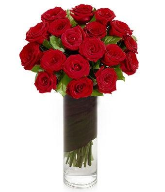 2-Dozen Red Roses in Vase