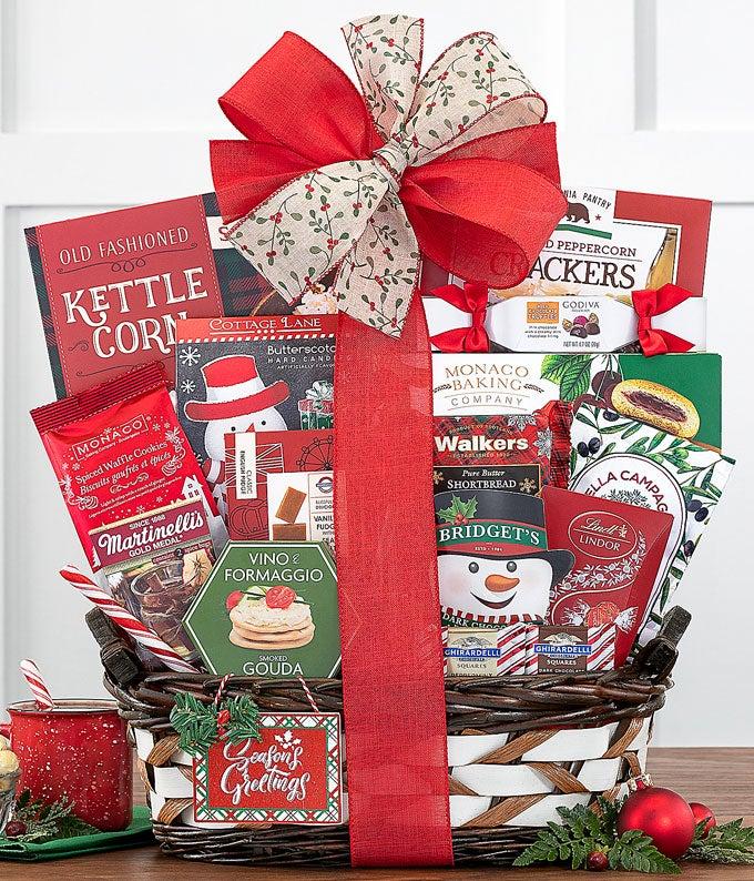 Season's Eatings Gift Basket