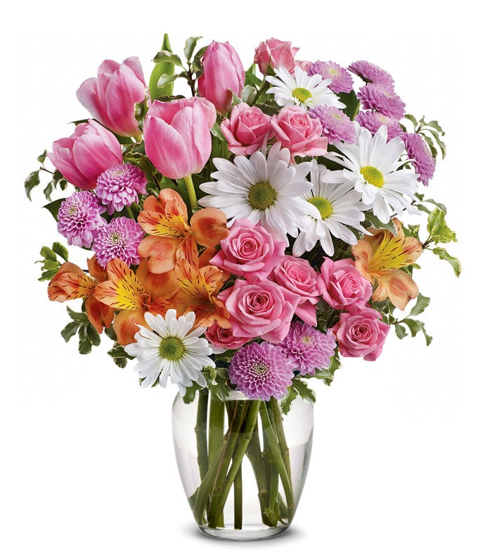 Spring Watering Can Floral Bouquet At From You Flowers