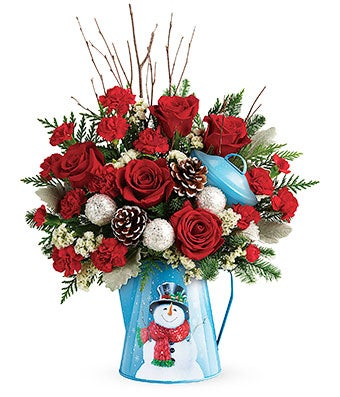 Snow Fall Delight Bouquet