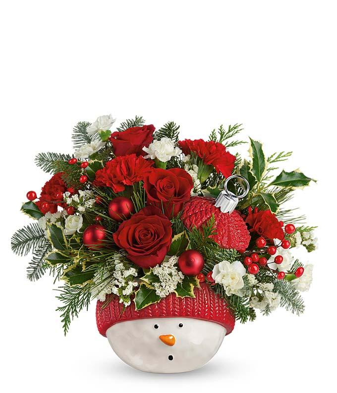 Shining Snowman Bouquet