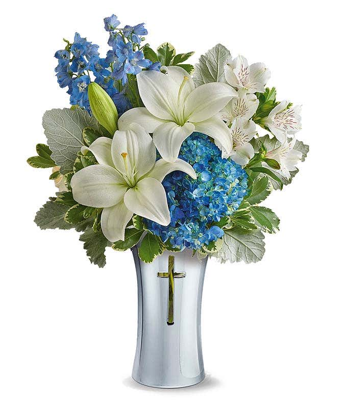 Blue Spirit Bouquet At From You Flowers