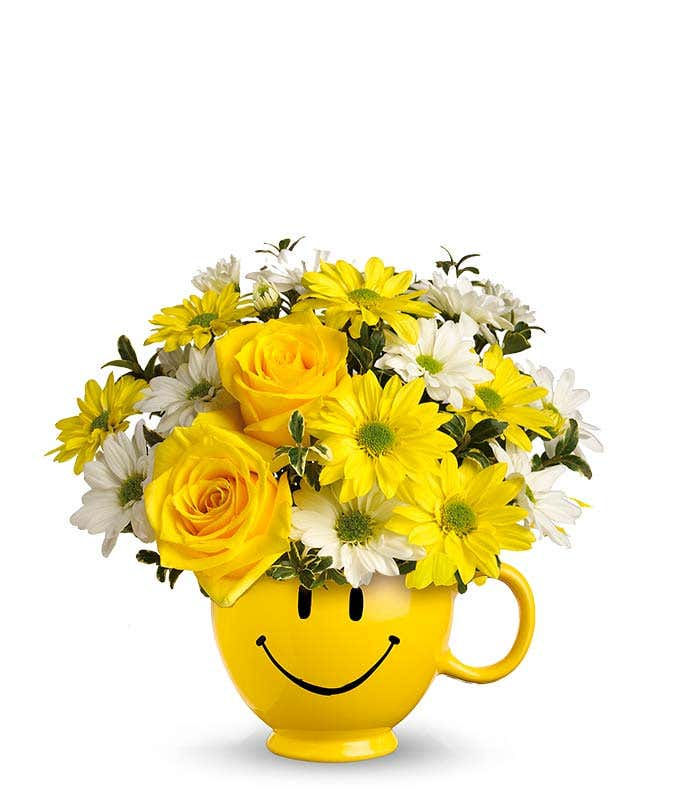 Be Happy Bouquet At From You Flowers
