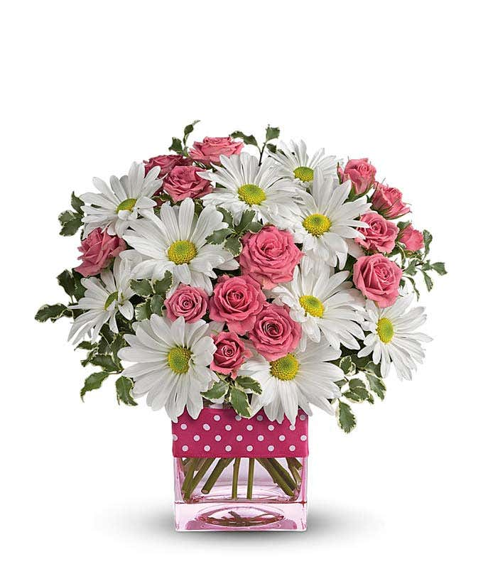 Pink pops of color at from you flowers pink pops of color mightylinksfo