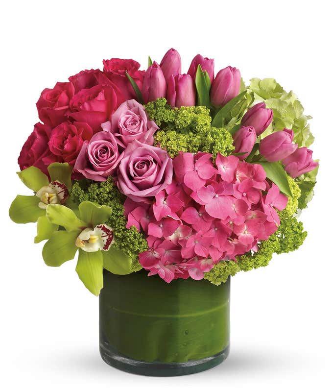 New Sensations Pink Bouquet