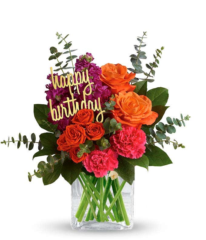 Be Bold On Your Birthday At From You Flowers