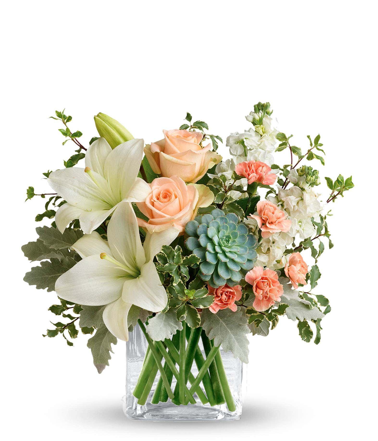 southern peach bouquet at from you flowers