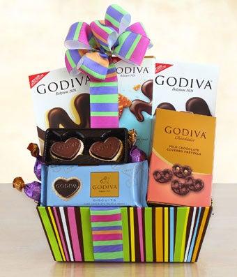 Godiva Galore Gift Basket