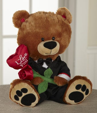 I Love You Tuxedo Bear - Regular