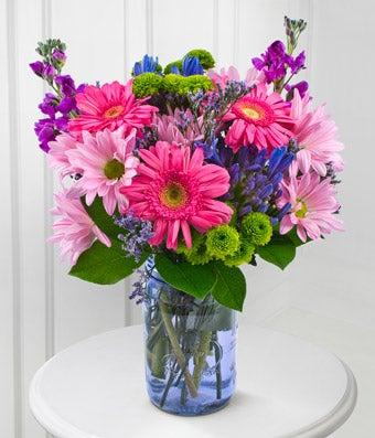 Pretty Purple Designer Bouquet