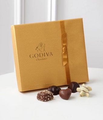 f24ceca860b2 Godiva® Gold Ballotin Assorted Chocolates - 19-piece Box at From ...