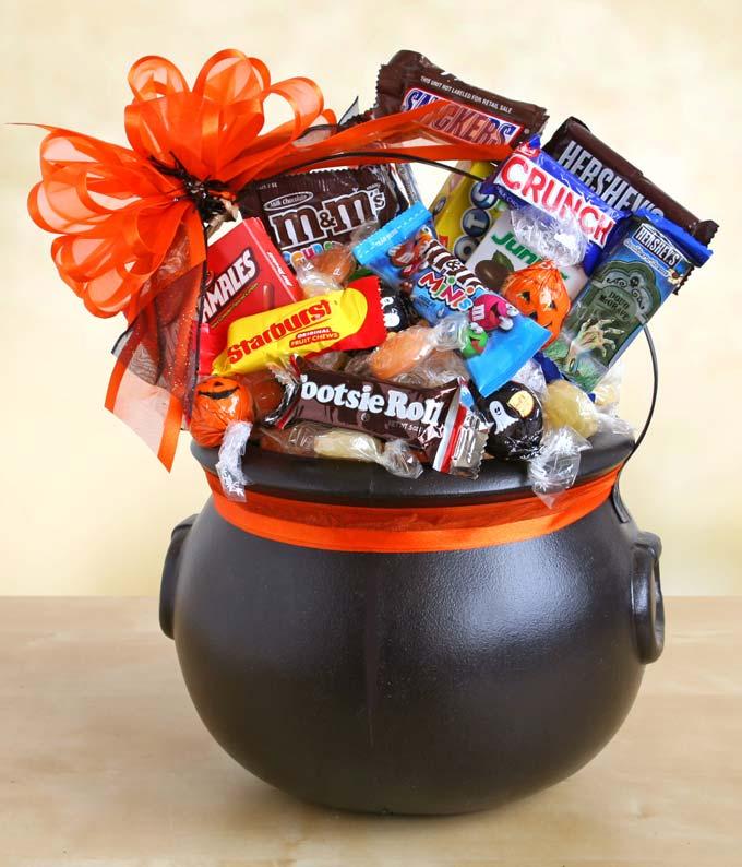 Halloween Cauldron of Chocolate