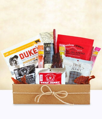 Jerkey and Salami gift basket